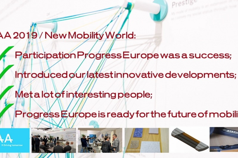 Rückblick Progress Europe auf der IAA 2019 | New Mobility World